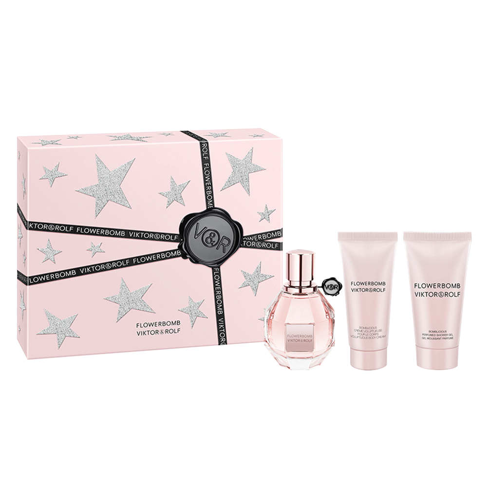 Flowerbomb Deluxe 3 Piece Gift Set